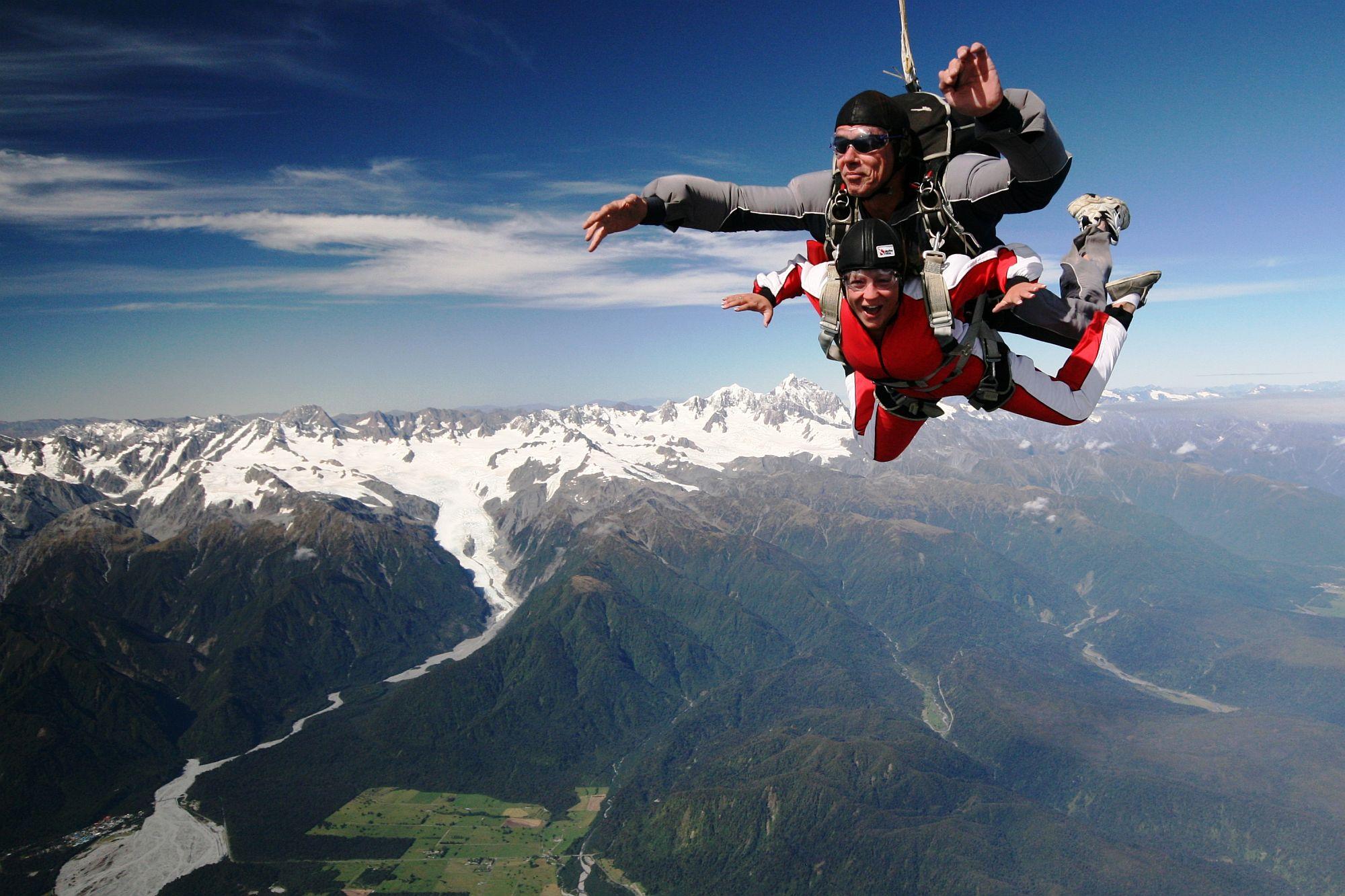 Skydiving FRANZ JOSEF