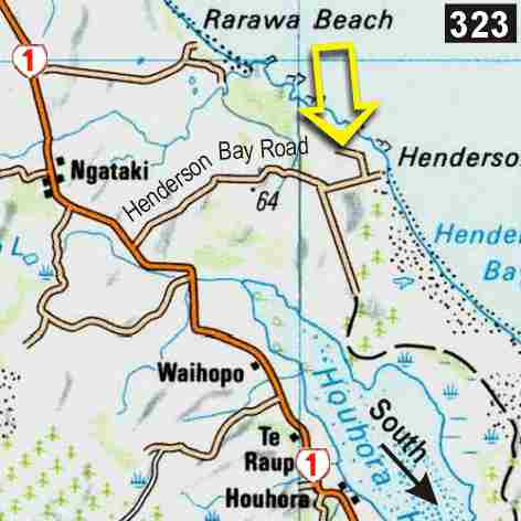 Map - North Wind Lodge Backpacker