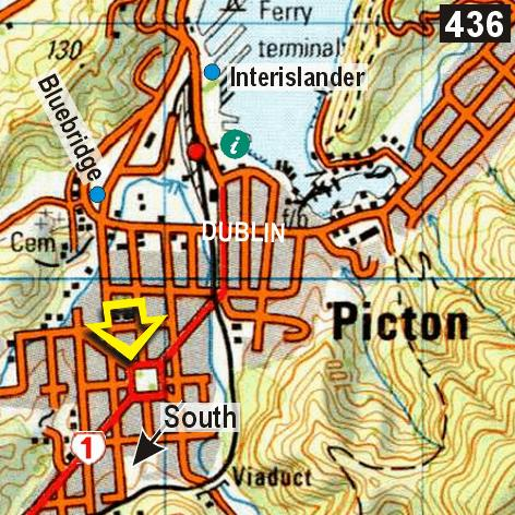 Map - Sequoia Lodge Backpackers