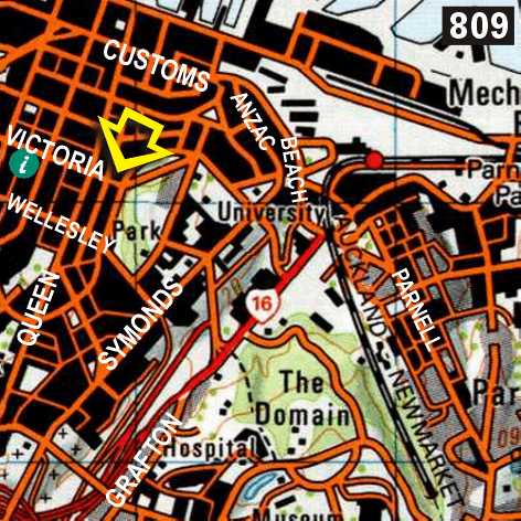 Map - Frienz Backpackers