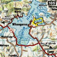 Map - Sunseeker Lodge