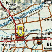 Map - Watson's Way Backpackers