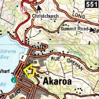 Map - Bon Accord Backpackers