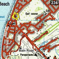 Map - Barnacles Seaside Inn