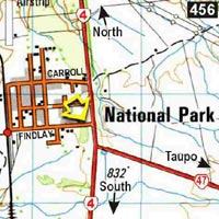 Map - National Park Backpackers