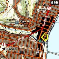 Map - Empire Hotel Backpackers